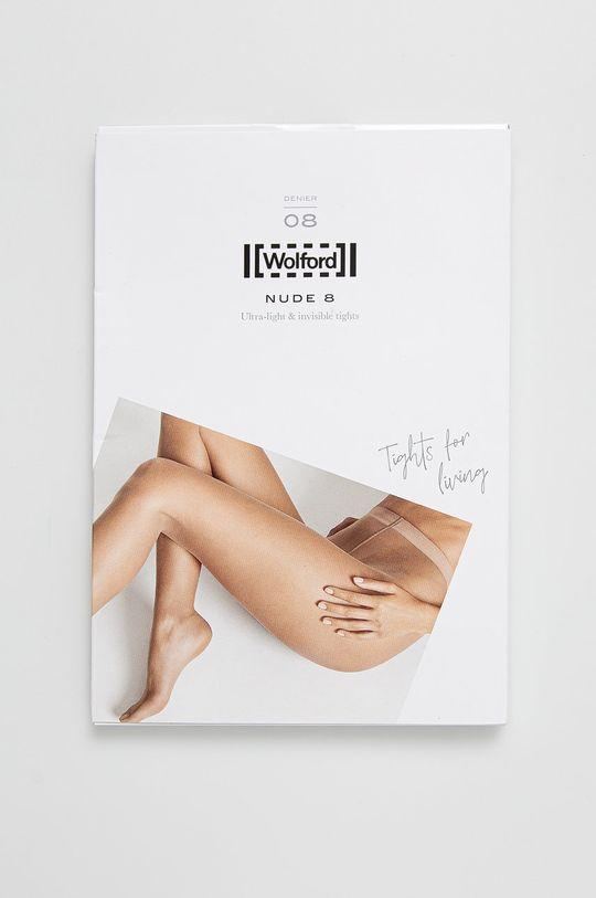 Wolford - Rajstopy Nude 8 DEN czarny