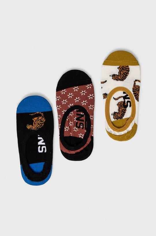 vícebarevná Vans - Ponožky (3-pack) Dámský