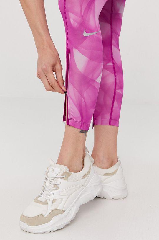 fuksja Nike - Legginsy
