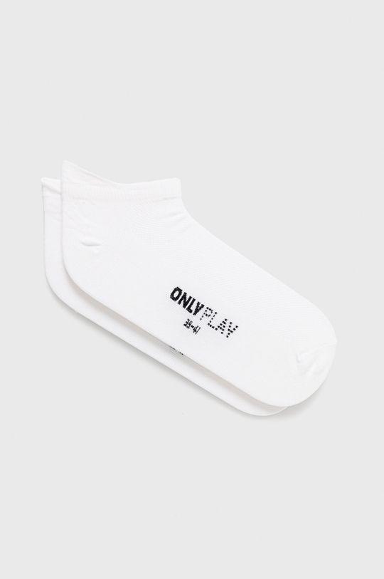 bílá Only Play - Ponožky Dámský