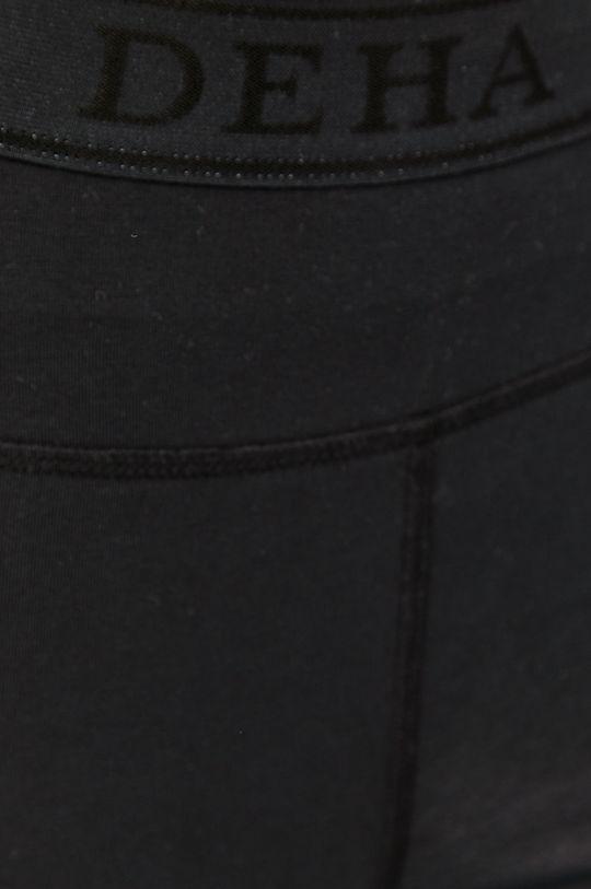 czarny Deha - Legginsy