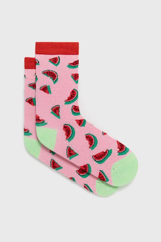 viacfarebná John Frank - Ponožky Dámsky