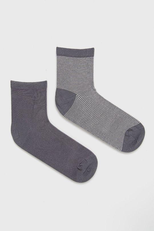 sivá Marc O'Polo - Ponožky (2-pack) Dámsky