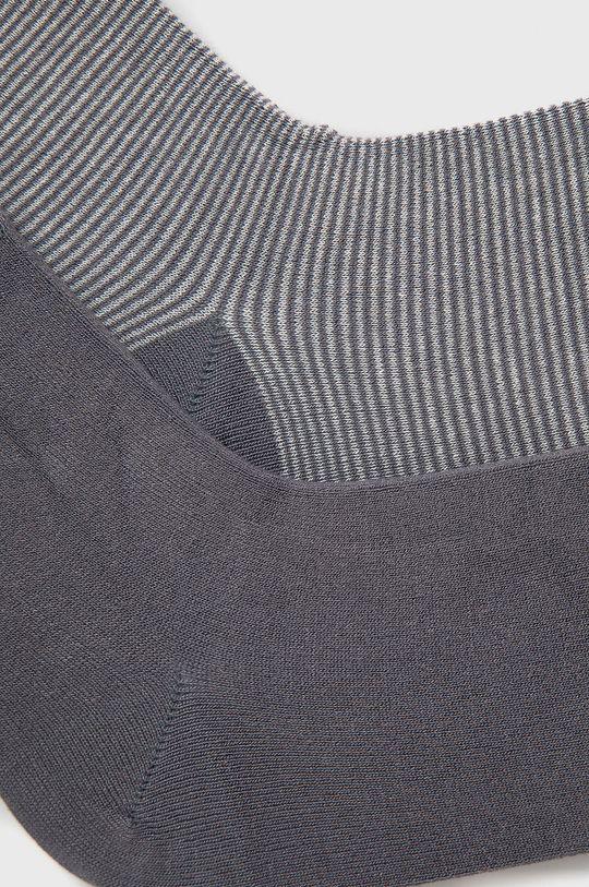 Marc O'Polo - Ponožky (2-pack) sivá