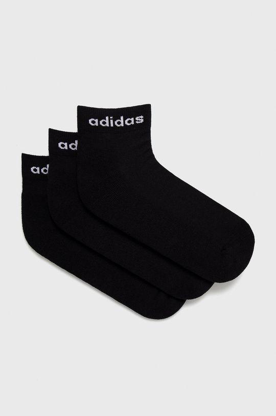 černá adidas - Ponožky (3-pack) Dámský