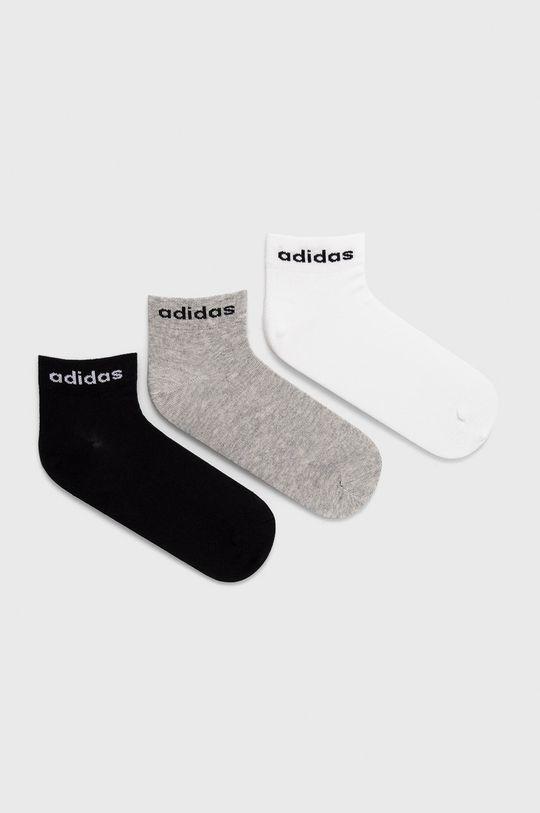 viacfarebná adidas - Ponožky (3-pak) Dámsky