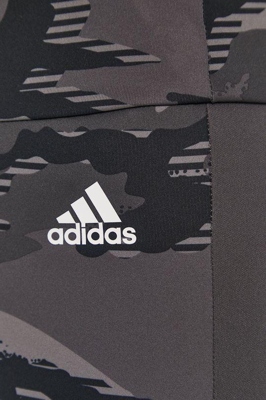 szary adidas - Legginsy