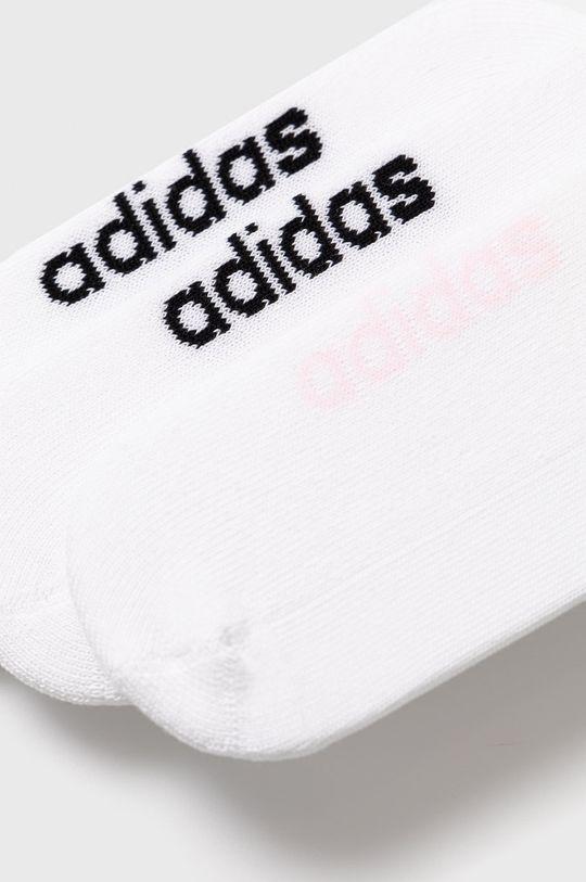 adidas - Ponožky (3-pak) biela