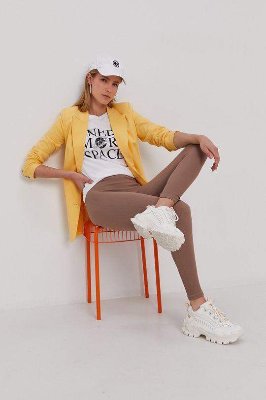 Vero Moda - Legíny hnedá