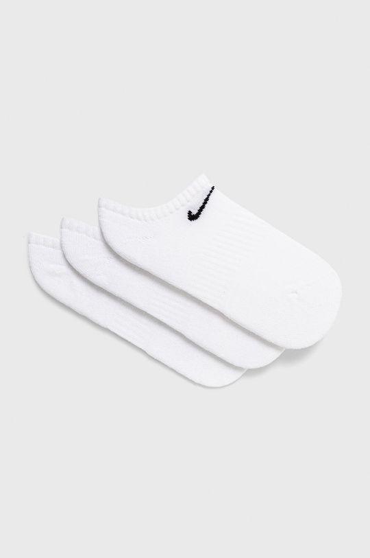 biela Nike - Ponožky (3-pak) Dámsky