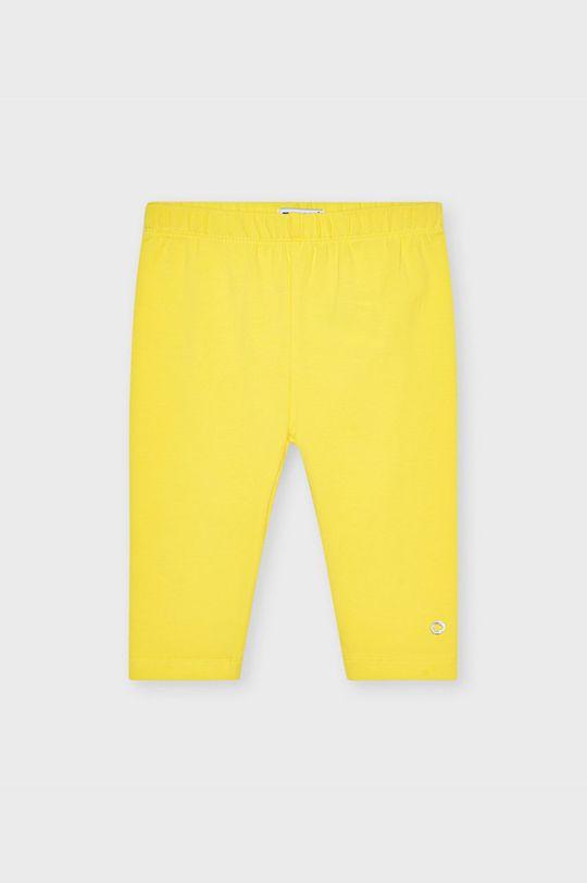 żółty Mayoral - Legginsy dziecięce Dziewczęcy