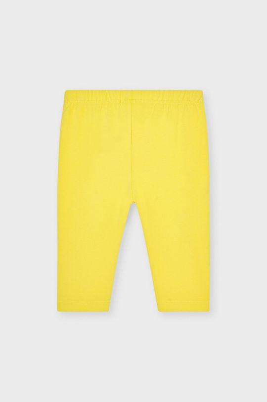 Mayoral - Legginsy dziecięce żółty