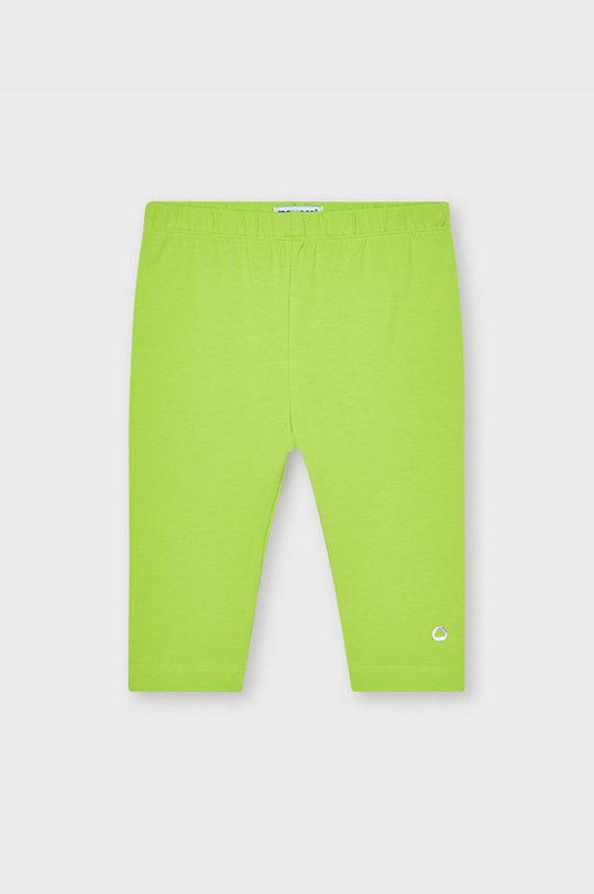 żółto - zielony Mayoral - Legginsy dziecięce Dziewczęcy