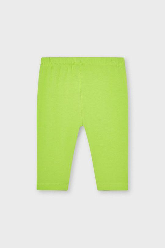 Mayoral - Legginsy dziecięce żółto - zielony
