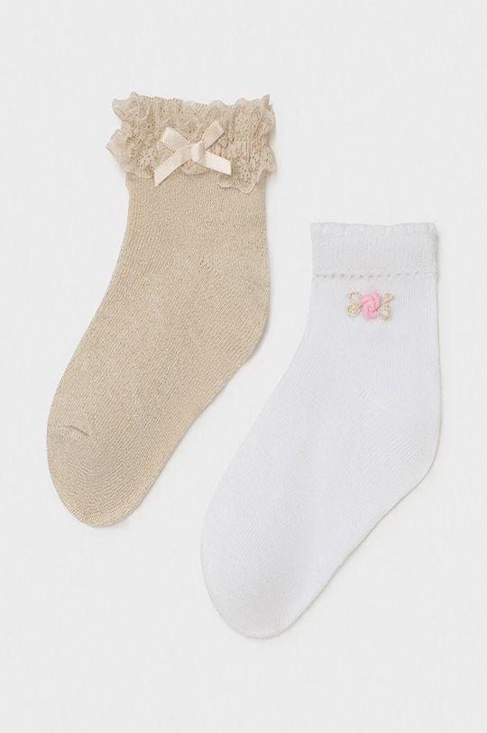 piesková Mayoral - Detské ponožky (2-pak) Dievčenský