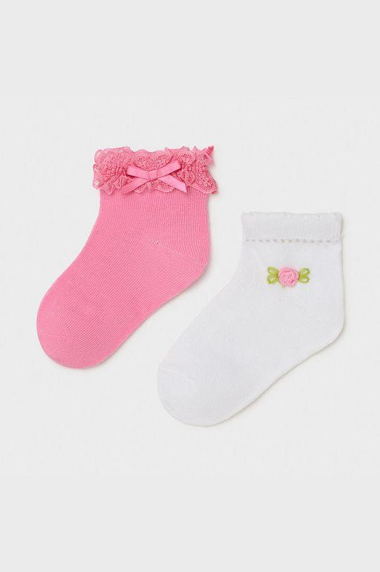 różowy Mayoral - Skarpetki dziecięce (2-PACK) Dziewczęcy