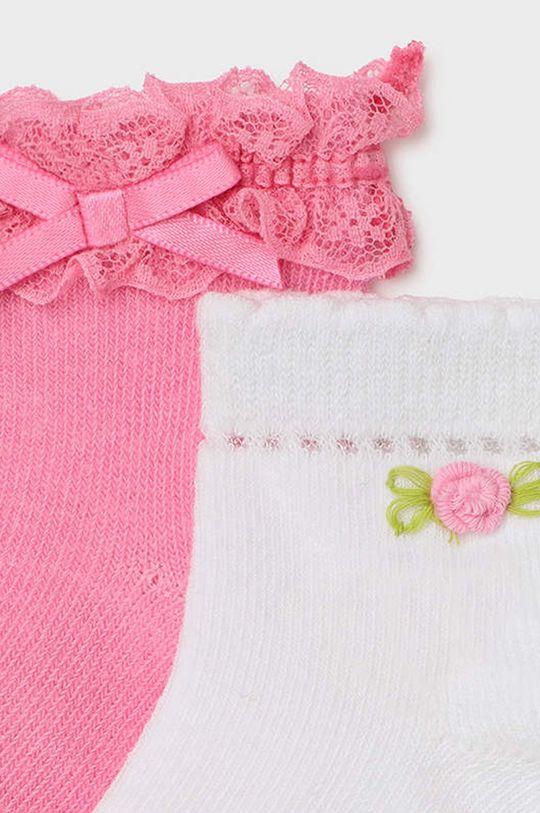 Mayoral - Skarpetki dziecięce (2-PACK) różowy