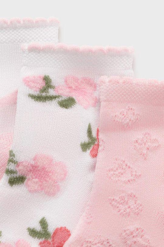 Mayoral - Sosete copii (3-PACK) roz pastelat