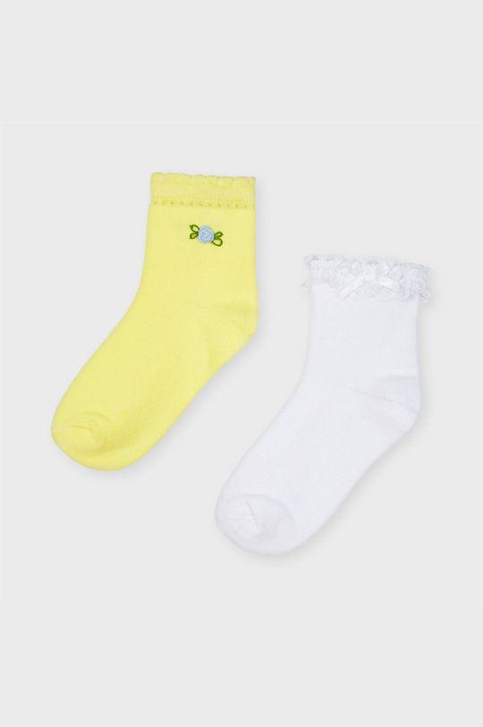 žltá Mayoral - Detské ponožky (2-pak) Dievčenský