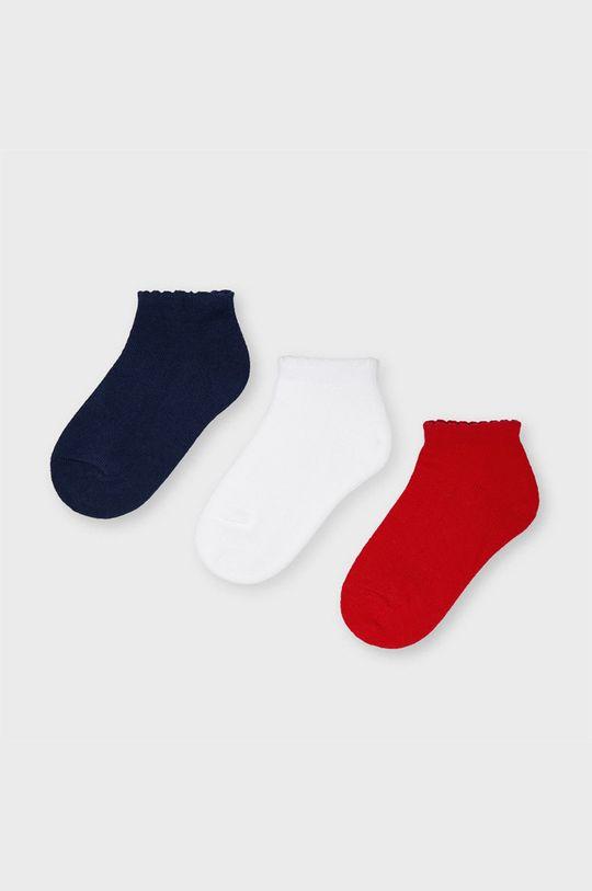 červená Mayoral - Detské ponožky (3-pak) Dievčenský