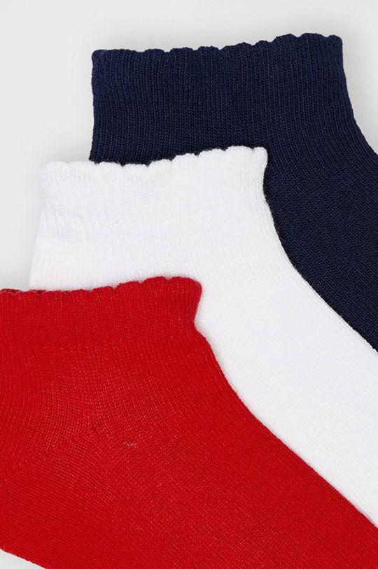 Mayoral - Detské ponožky (3-pak) červená