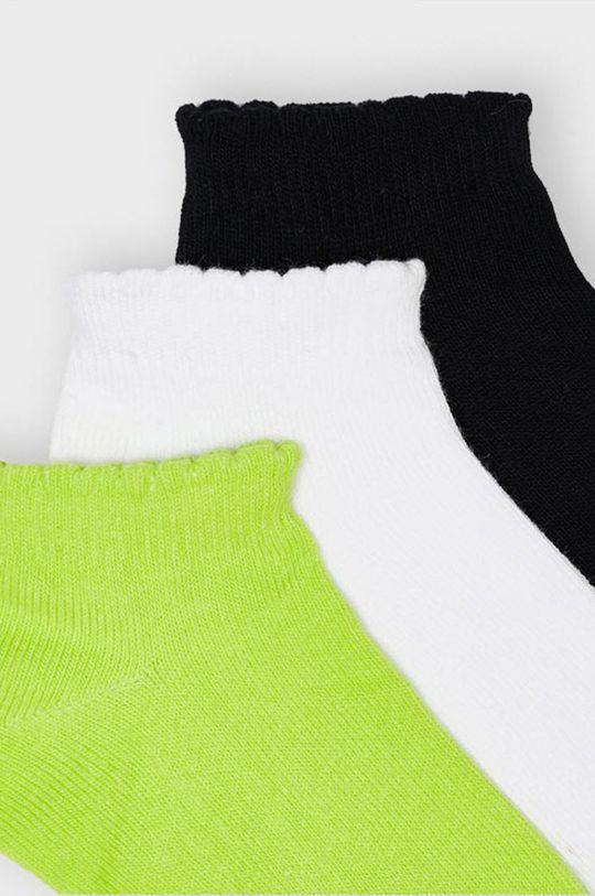 Mayoral - Sosete copii (3-pack) galben – verde