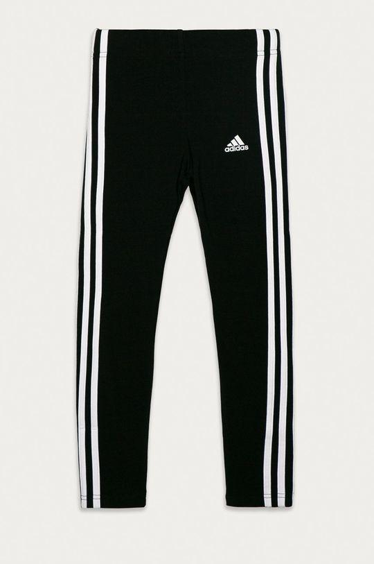 černá adidas - Dětské legíny 104-170 cm Dívčí