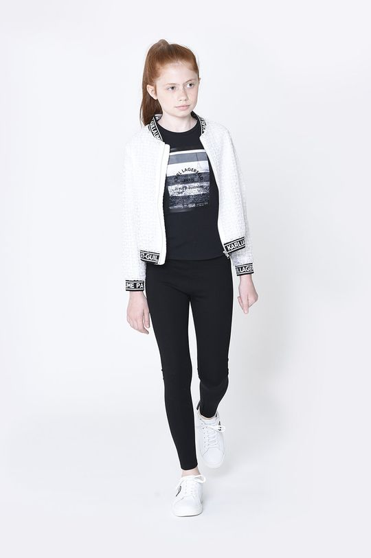 černá Karl Lagerfeld - Dětské legíny Dívčí