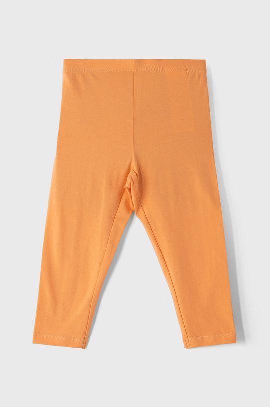 pomarańczowy Name it - Legginsy dziecięce 116-152 cm Dziewczęcy