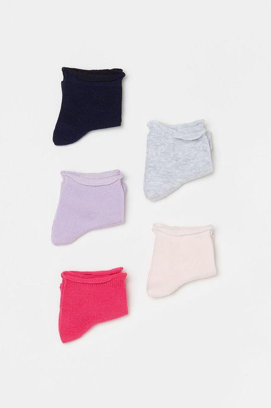 multicolor OVS - Skarpetki dziecięce (5-PACK) Dziewczęcy
