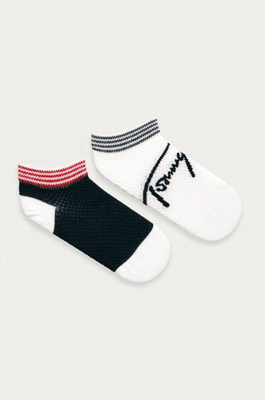 tmavomodrá Tommy Hilfiger - Detské ponožky (2-pak) Dievčenský