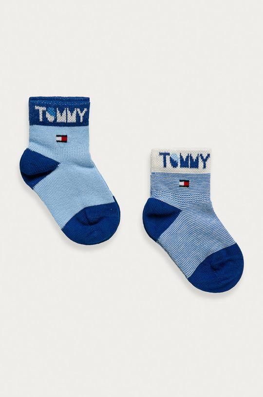 modrá Tommy Hilfiger - Detské ponožky (2-pak) Dievčenský