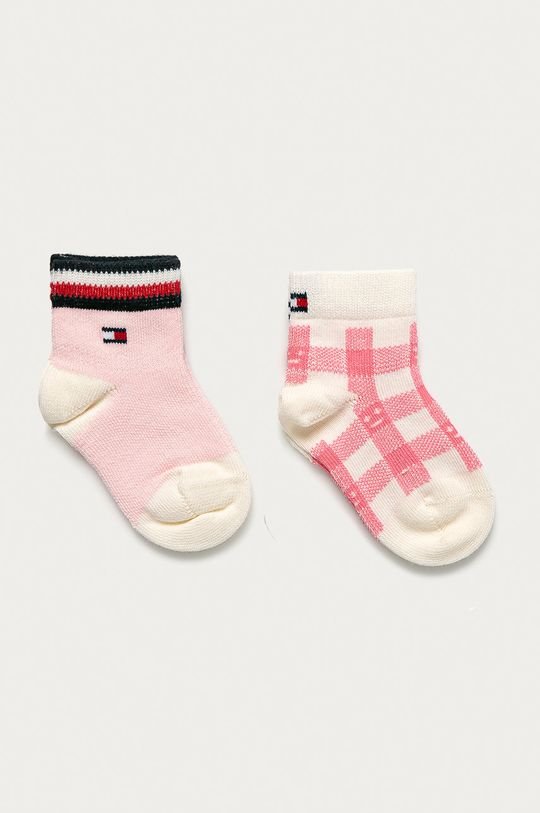 ružová Tommy Hilfiger - Detské ponožky (2-pak) Dievčenský