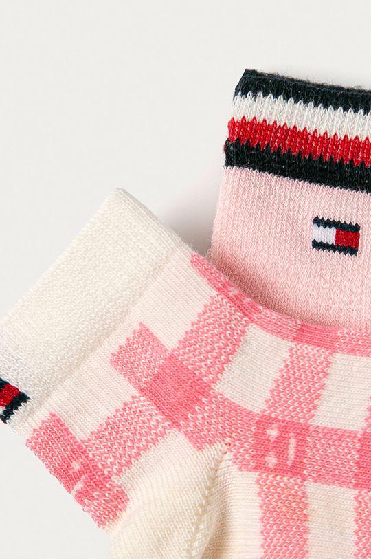 Tommy Hilfiger - Detské ponožky (2-pak) ružová