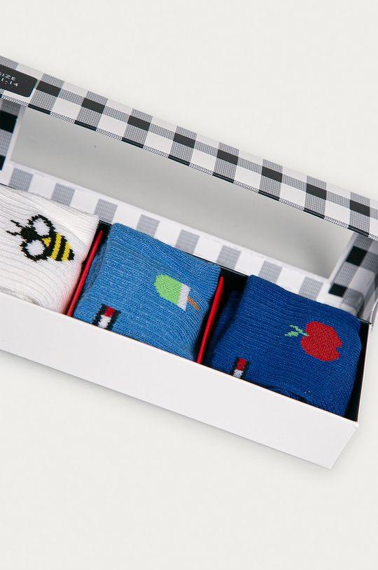 Tommy Hilfiger - Skarpetki niemowlęce (3-pack) niebieski