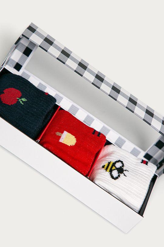 Tommy Hilfiger - Ponožky pre bábätká (3-pak) viacfarebná