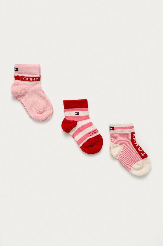 ružová Tommy Hilfiger - Detské ponožky Dievčenský