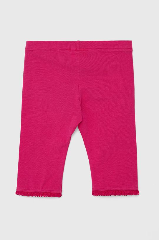 United Colors of Benetton - Dětské legíny růžová