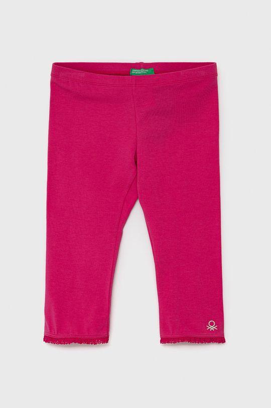 růžová United Colors of Benetton - Dětské legíny Dívčí