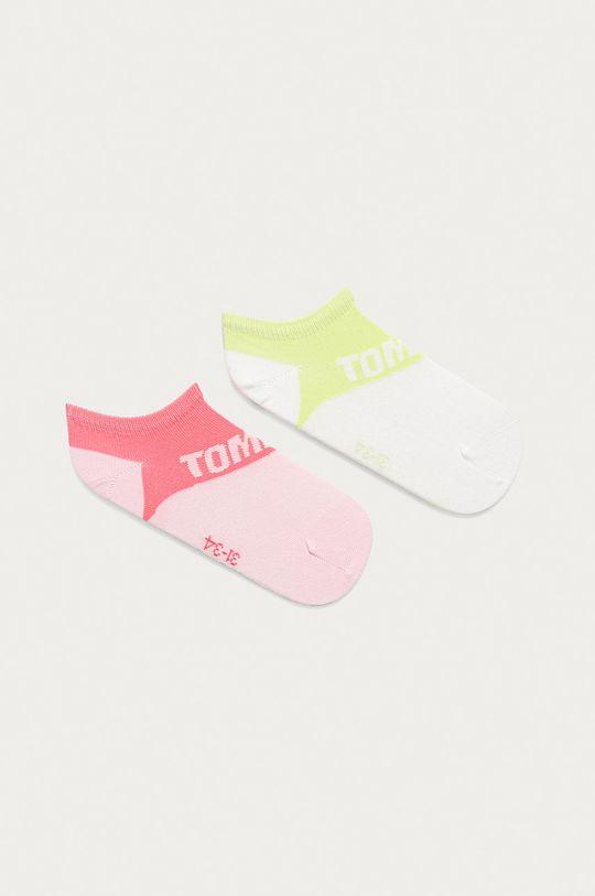 ružová Tommy Hilfiger - Detské ponožky (2-pak) Detský