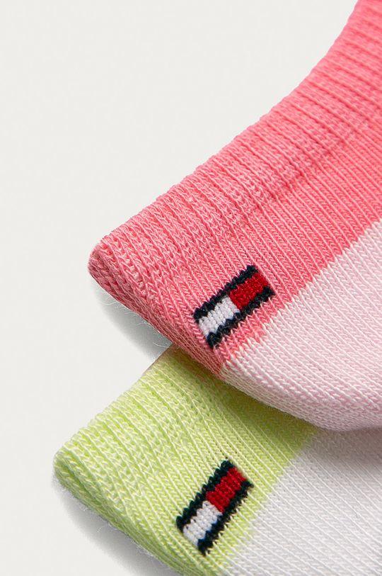 Tommy Hilfiger - Detské ponožky (2-pak)  75% Bavlna, 1% Elastan, 24% Polyamid