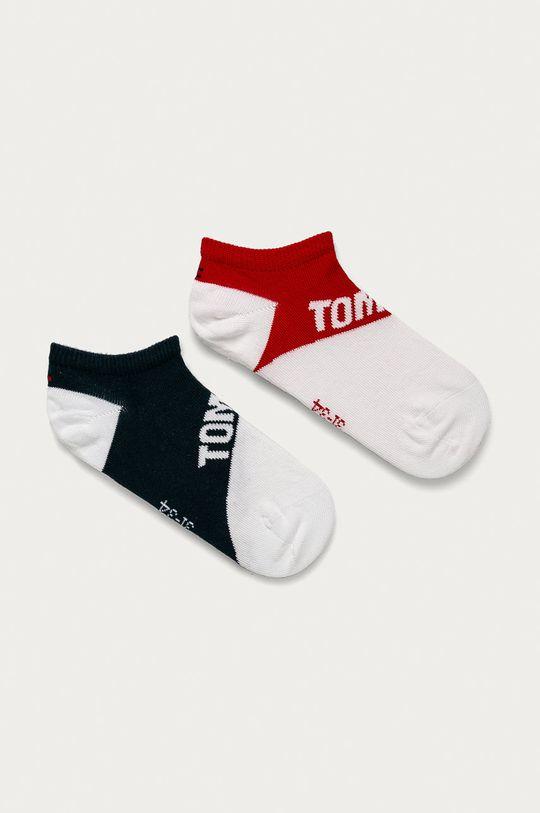 tmavomodrá Tommy Hilfiger - Detské ponožky (2-pak) Detský
