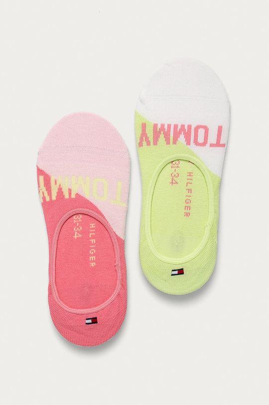 růžová Tommy Hilfiger - Dětské ponožky (2-pack) Dětský