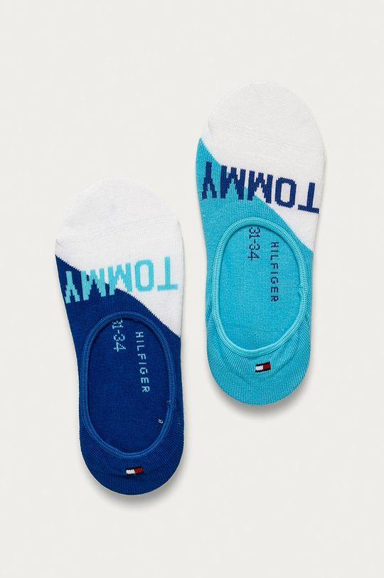 modrá Tommy Hilfiger - Detské ponožky (2-pak) Detský