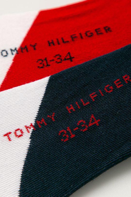 Tommy Hilfiger - Dětské ponožky (2-pack) námořnická modř
