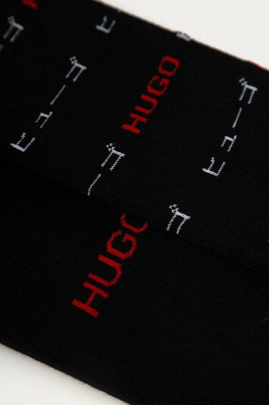 Hugo - Ponožky (2-pack) černá