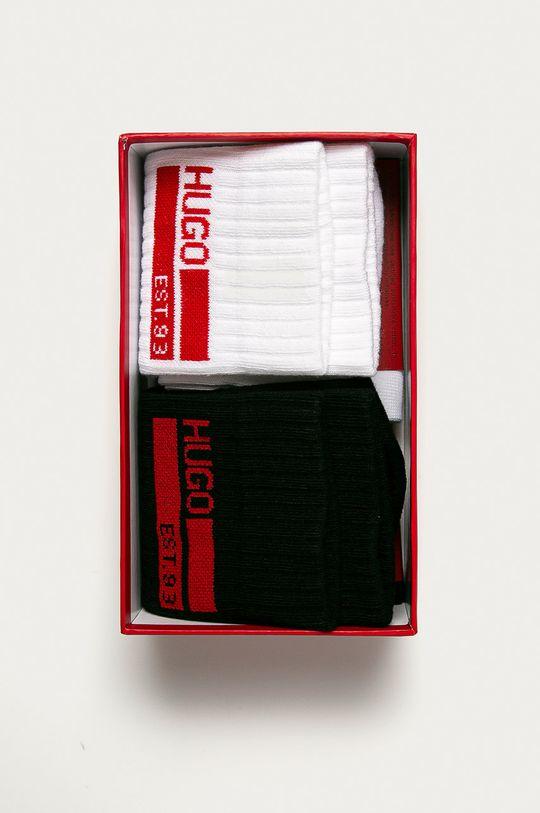 Hugo - Ponožky (2-pak)  67% Bavlna, 3% Elastan, 30% Polyamid