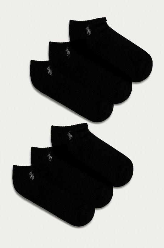 čierna Polo Ralph Lauren - Ponožky (6-pak) Pánsky