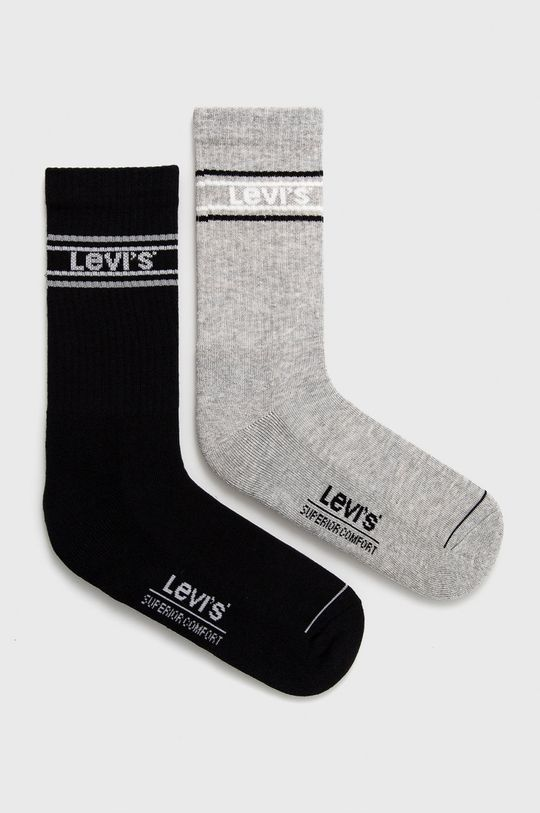 sivá Levi's - Ponožky (2-pak) Pánsky