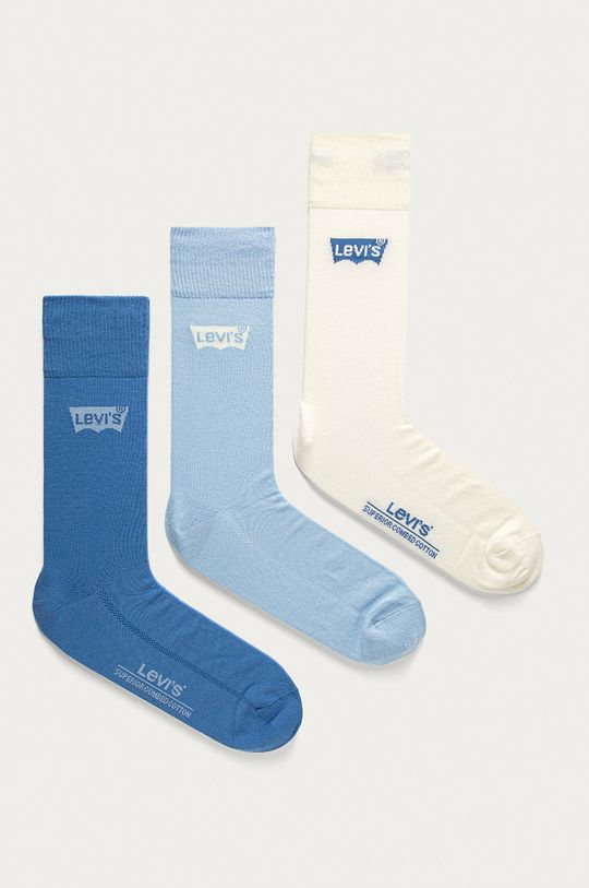modrá Levi's - Ponožky (3-pak) Pánsky